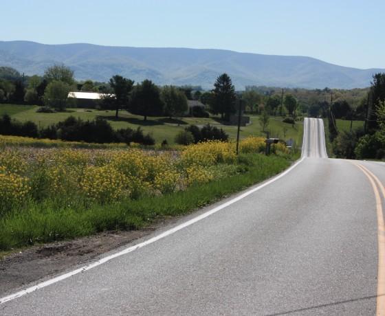 Virginie vélo Voyage vélo route État-Unis