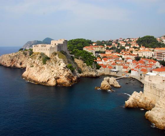 Voyage vélo route Croatie Europe