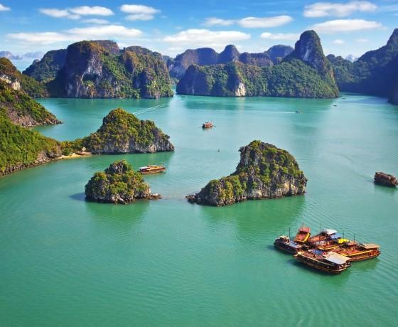 Baie d'Halong - Vietnam à vélo - Sur La Route